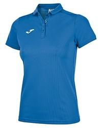 Camisa polo azul de Joma
