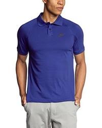 Camisa polo azul de Nike