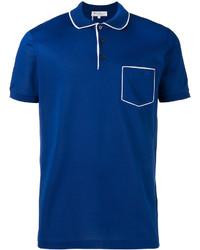 Camisa Polo Azul de Salvatore Ferragamo