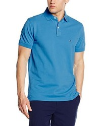 Camisa polo azul de Tommy Hilfiger