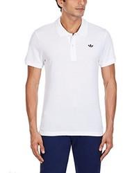 Camisa polo blanca de adidas