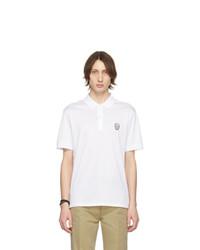 Camisa polo blanca de Alexander McQueen