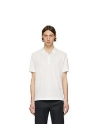 Camisa polo blanca de Brioni