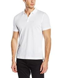 Camisa polo blanca de Calvin Klein
