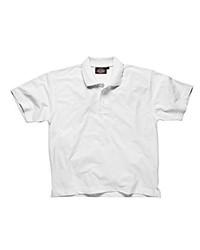 Camisa polo blanca de Dickies