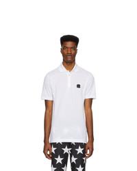 Camisa polo blanca de Dolce and Gabbana