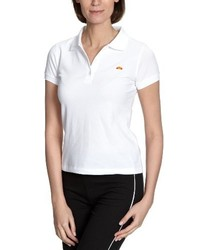 Camisa polo blanca de Ellesse