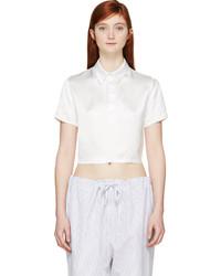 Camisa polo blanca de Filles a papa