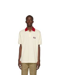 Camisa polo blanca de Gucci
