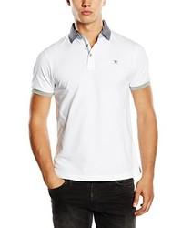 Camisa polo blanca de Hackett London