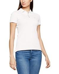 Camisa polo blanca de Hilfiger Denim