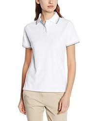 Camisa polo blanca de Intimuse