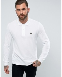 Camisa polo blanca de Lacoste