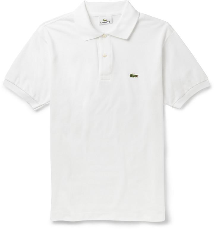21d9fecfaffc8 ... Camisa polo blanca de Lacoste ...