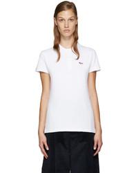 Camisa polo blanca de MAISON KITSUNE