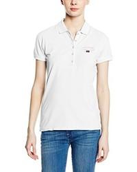 Camisa polo blanca de Napapijri