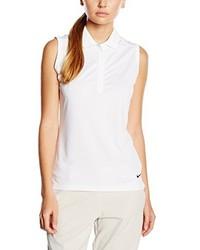 Camisa polo blanca de Nike