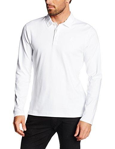 Camisa polo blanca de Perry Ellis