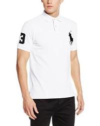 4f9e0bb04798c ... Camisa polo blanca de Polo Ralph Lauren