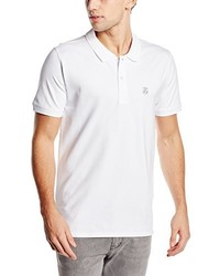 Camisa Polo Blanca de Selected
