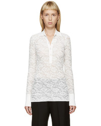Camisa polo blanca de Stella McCartney