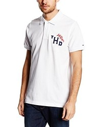 Camisa polo blanca de Tommy Hilfiger Denim