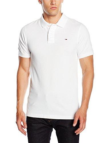 ddb67b29fd40a ... Camisa polo blanca de Tommy Hilfiger ...