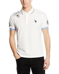 Camisa polo blanca de US Polo Association