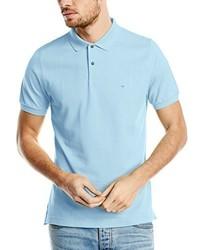 Camisa polo celeste de Calvin Klein