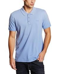 Camisa Polo Celeste de GUESS