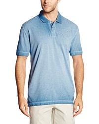 Camisa Polo Celeste de Tom Tailor