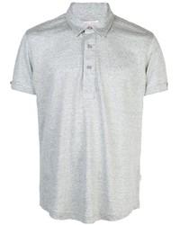 Camisa polo de lino gris de Orlebar Brown