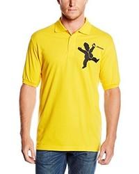 Camisa Polo Dorada de Touchlines