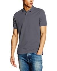 Camisa polo en gris oscuro de Calvin Klein