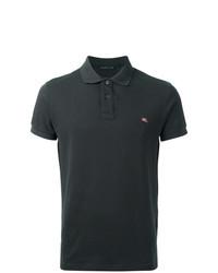 Camisa polo en gris oscuro de Etro