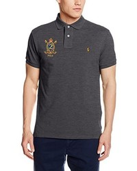 Camisa polo en gris oscuro de Polo Ralph Lauren