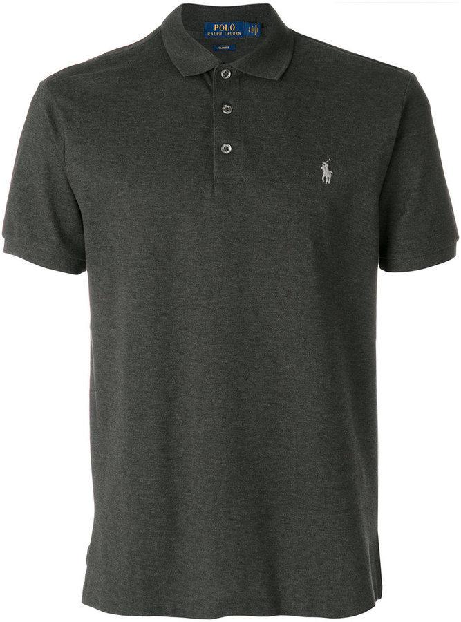 6ebac450ec997 ... Camisa polo en gris oscuro de Polo Ralph Lauren ...