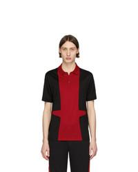 Camisa polo en multicolor de Alexander McQueen