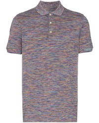 Camisa polo en multicolor de Missoni