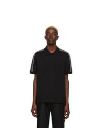Camisa polo en negro y blanco de Givenchy