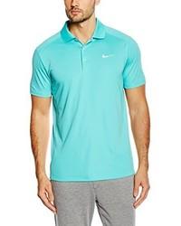 Camisa polo en turquesa de Nike