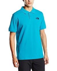 Camisa polo en turquesa de The North Face