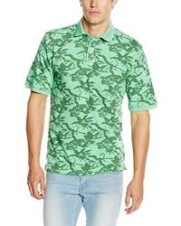 Camisa polo en verde menta de Casamoda