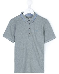 Camisa polo gris de Armani Junior