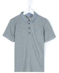 Camisa polo gris de Armani Junior