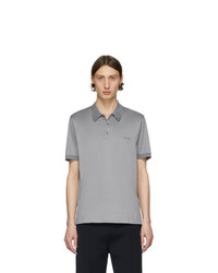Camisa polo gris de Brioni