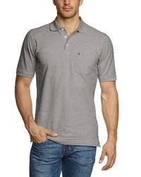 Camisa polo gris de Casamoda