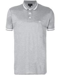 Comprar una camisa polo gris Emporio Armani  d84f60360697f