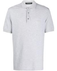 Camisa polo gris de Ermenegildo Zegna