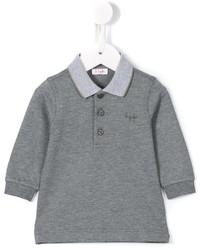 Camisa polo gris de Il Gufo